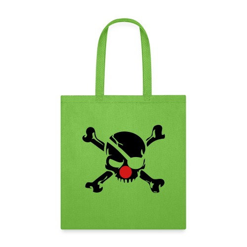 Clown Jolly Roger Pirate - Tote Bag