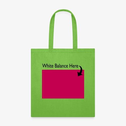 White Balance - Tote Bag