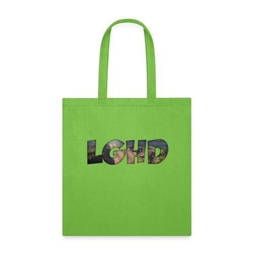 LGHD Rust Name png - Tote Bag