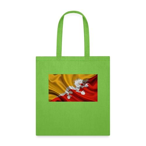 Bhutan Flag - Tote Bag