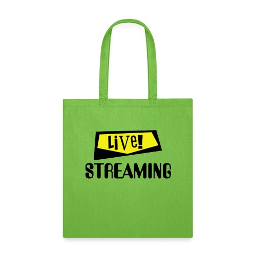 Live Streaming - Tote Bag