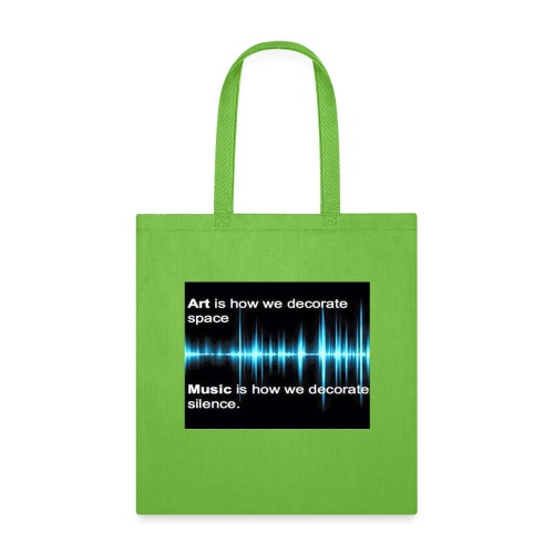 Music and art - Tote Bag