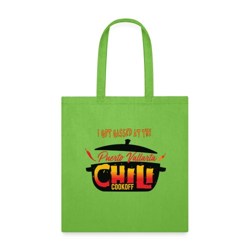 I Got Gassed at the PV Chili Cook-Off - Tote Bag