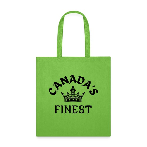 Canada s Finest Logo - Tote Bag