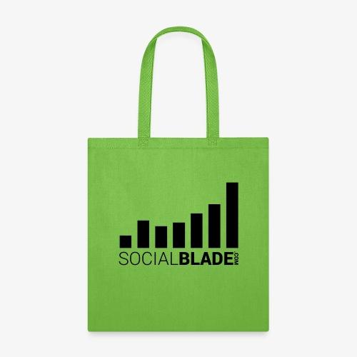 Socialblade (Dark) - Tote Bag