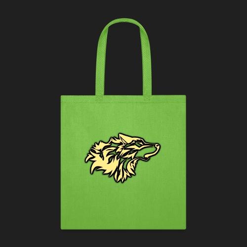 wolfepacklogobeige png - Tote Bag
