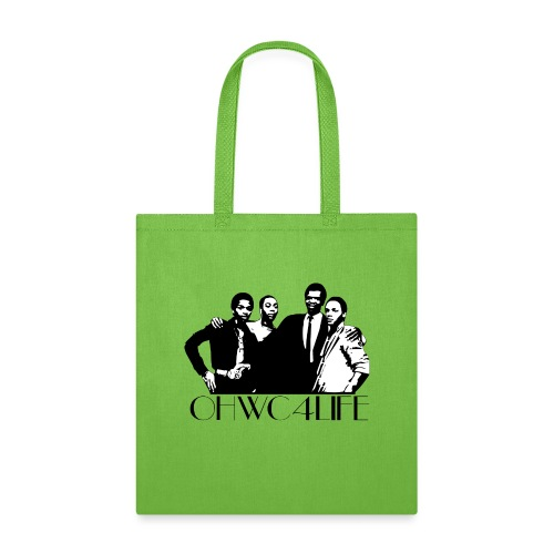 ohwc text blk & Wh Silhouette - Tote Bag