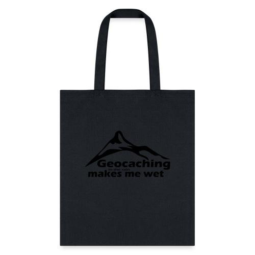 Wet Geocaching - Tote Bag