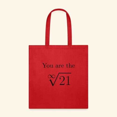 You are the one 21 - Tote Bag