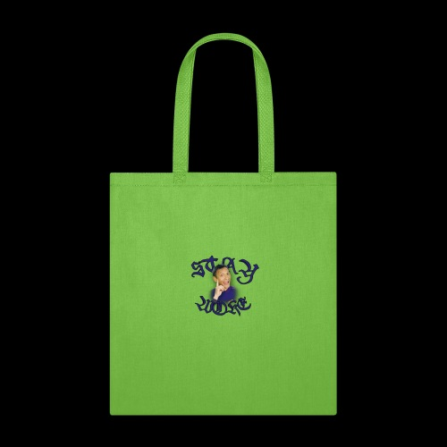 Stay Woke small logo - Tote Bag