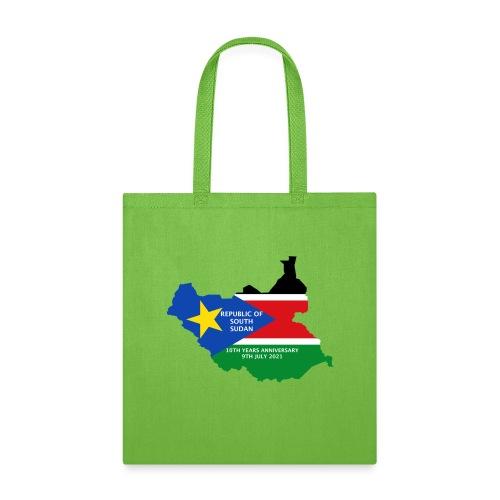 south sudan 10th years anniversary - Tote Bag