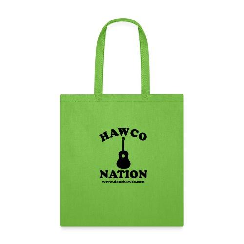 HAWCO NATION BLACK LETTERS - Tote Bag