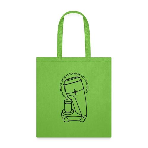 Coffee Cup & Grinder - Tote Bag