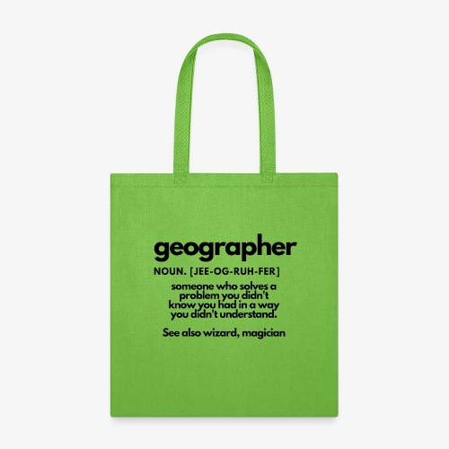 geographer - Tote Bag