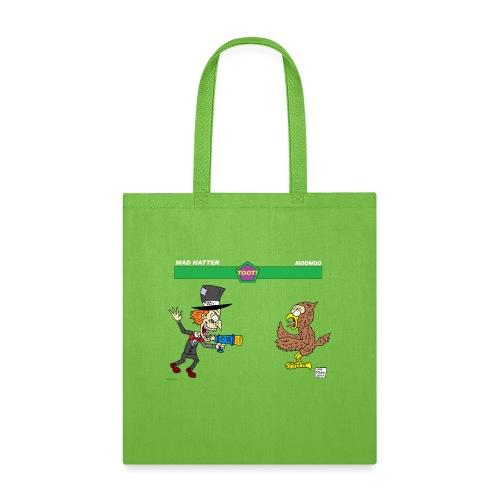 madhatter vs n00n00 - Tote Bag
