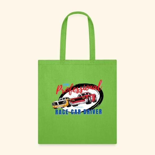 Semi-professional pretend race car driver - Tote Bag