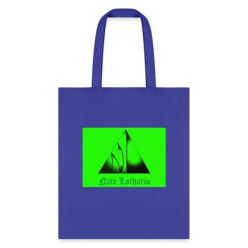 Lime Green Logo - Tote Bag
