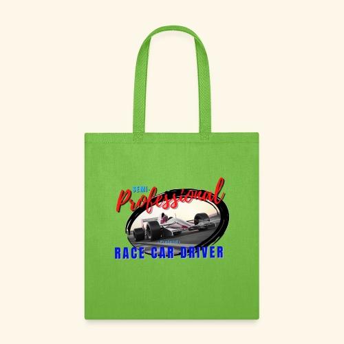 semi pro indy pretend race car driver - Tote Bag