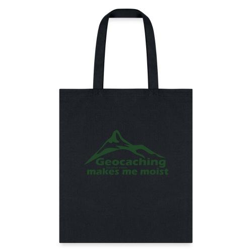 Geocaching in the Rain - Tote Bag