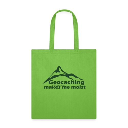 Geocaching in the Rain - Tote Bag