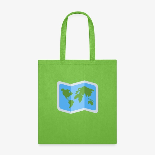 Awesome artsy Earth map - Tote Bag