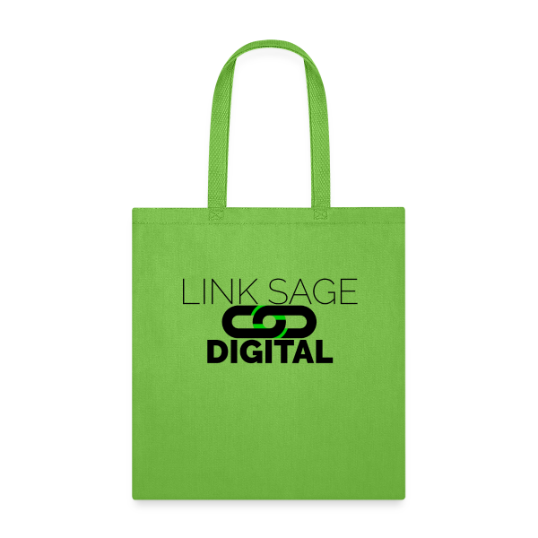 Link Sage Digital Logo with Text - Tote Bag
