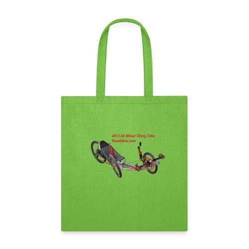AR-3 All wheel Tilting Trike - Tote Bag