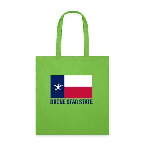 Drone Star State - Long Sleeve - Tote Bag