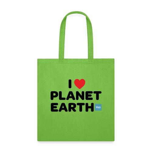 I Heart Planet Earth - Tote Bag