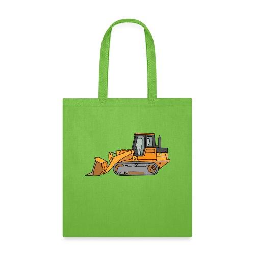 Bulldozer (orange) - Tote Bag
