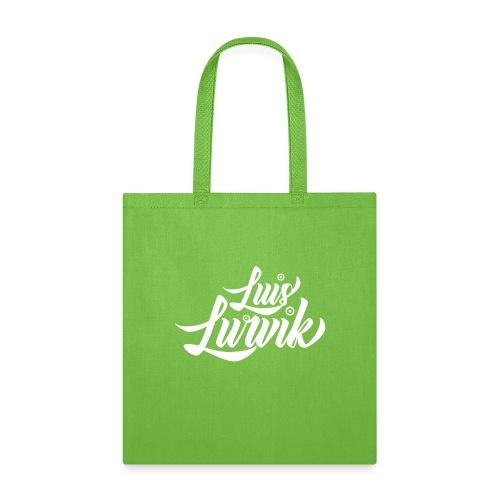 Luis Lurvik logo blanco - Tote Bag