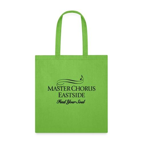 Master Chorus Eastside logo in black - Tote Bag