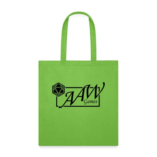 AAW Games (black logo) - Tote Bag