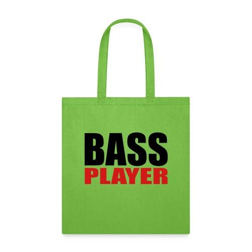 Bass Player - Tote Bag