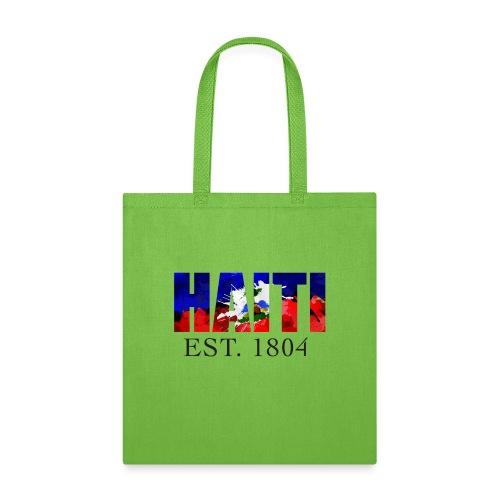 HAITI EST. 1804 - Tote Bag