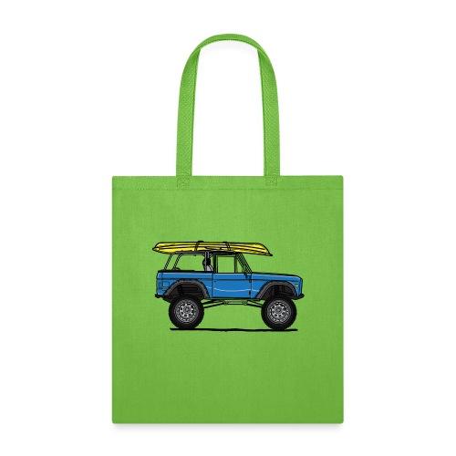 Ford Bronco Beach - Tote Bag