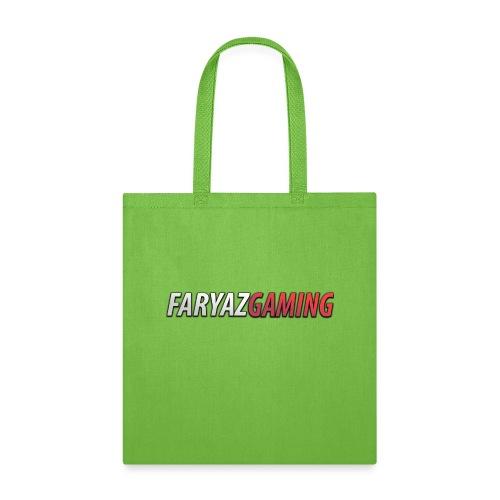 FaryazGaming Text - Tote Bag