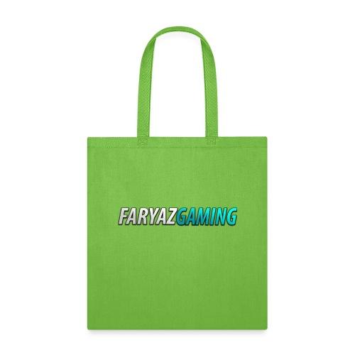 FaryazGaming Theme Text - Tote Bag