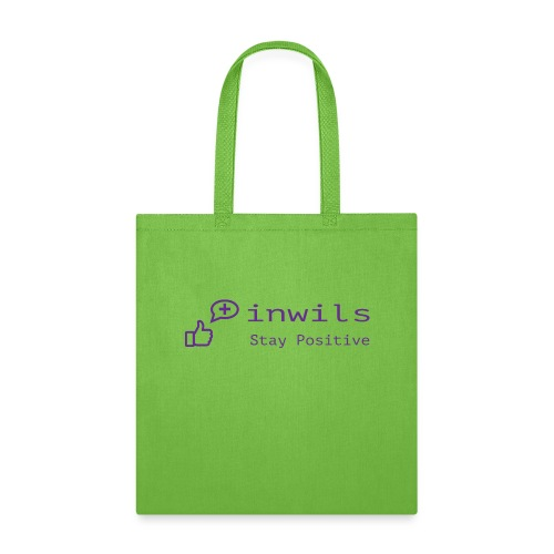 stay positive basic - Tote Bag