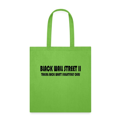 Black Wall Street II - Tote Bag