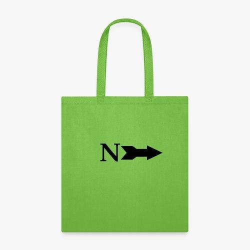 Narrow Logo Black - Tote Bag