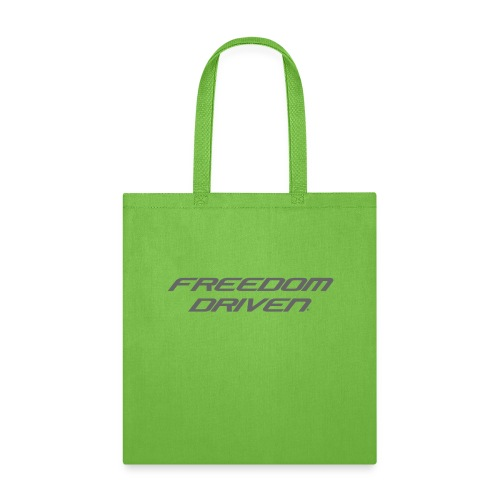 Freedom Driven Official Grey Lettering - Tote Bag
