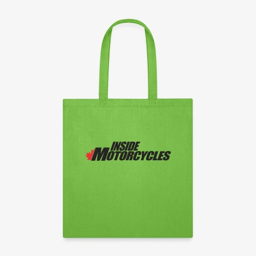 Inside Motorcycles Logo - Black - Tote Bag