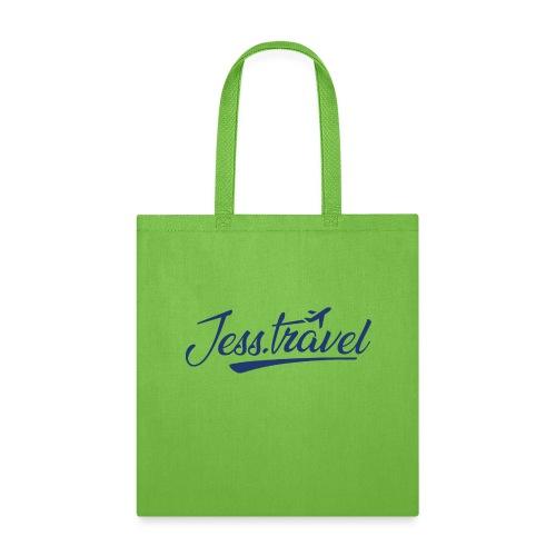 Jess Travel Logo LARGE Reverse - Tote Bag