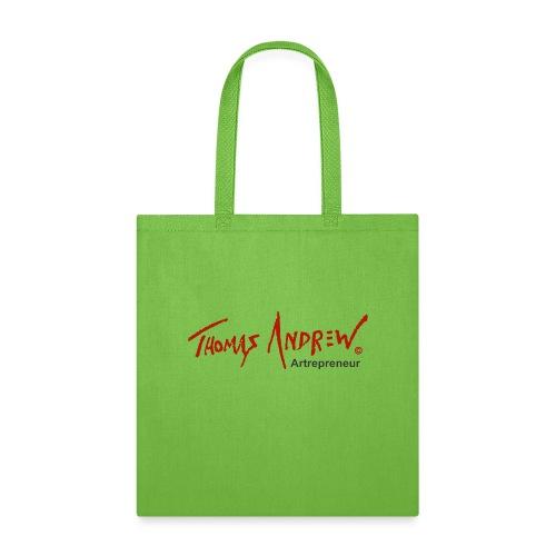 Thomas Andrew Artrepreneur - Tote Bag