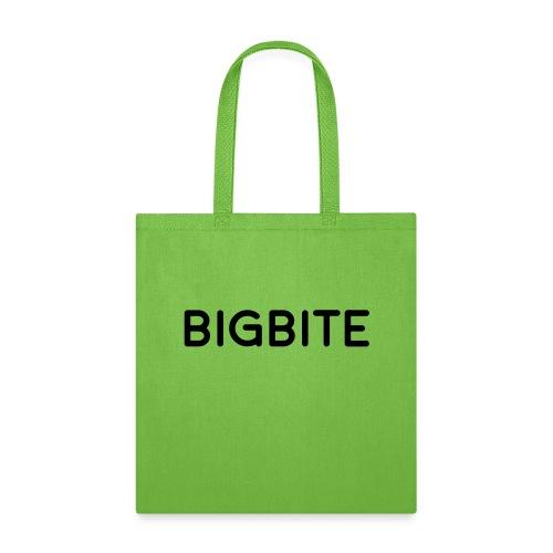 BIGBITE logo red (USE) - Tote Bag