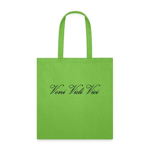 Zyzz Veni Vidi Vici Calli text - Tote Bag