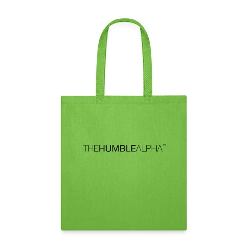 The Humble Alpha Black - Tote Bag
