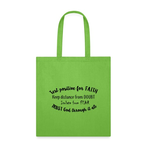 Positive for Faith - Tote Bag