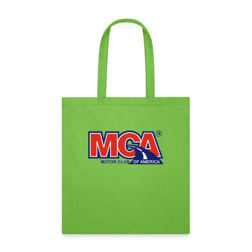 MCA_Logo_WBG_Transparent - Tote Bag